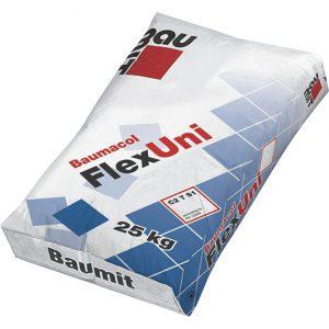 Plytelių klijai FlexUni BAUMIT
